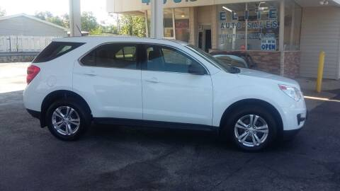 2013 Chevrolet Equinox for sale at Elite Auto Sales in Willowick OH