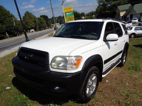 2005 Toyota Sequoia for sale at Wheels and Deals 2 in Atlanta GA