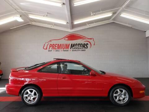 1999 Acura Integra for sale at Premium Motors in Villa Park IL