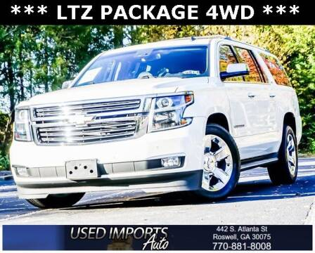 2015 Chevrolet Suburban for sale at Used Imports Auto in Roswell GA