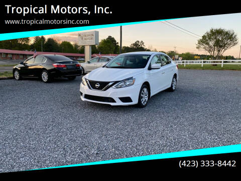 2018 Nissan Sentra for sale at Tropical Motors, Inc. in Riceville TN