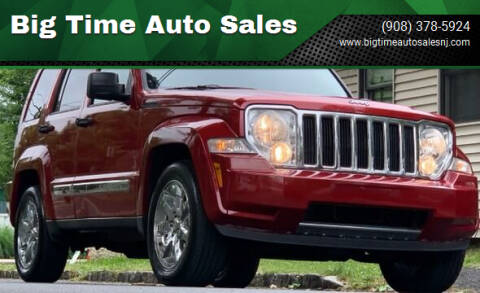 2007 Jeep Liberty for sale at Big Time Auto Sales in Vauxhall NJ
