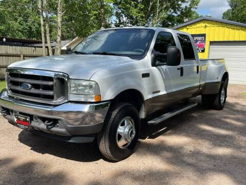 2004 Ford F-350 Super Duty for sale at M & J Motor Sports in New Caney TX