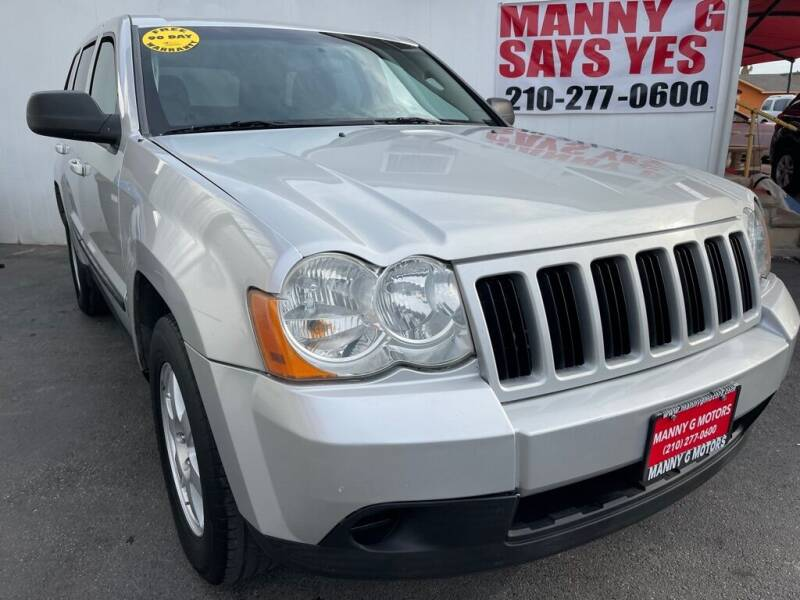 2008 Jeep Grand Cherokee for sale at Manny G Motors in San Antonio TX
