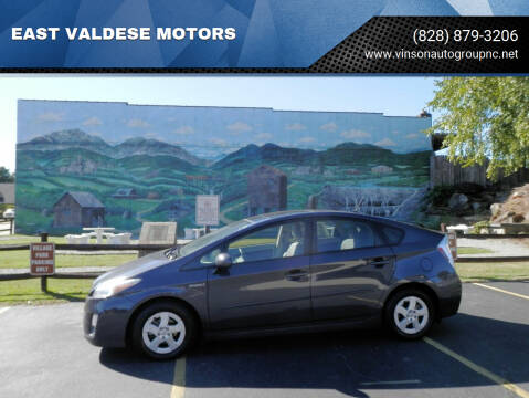 2011 Toyota Prius for sale at EAST VALDESE MOTORS in Valdese NC
