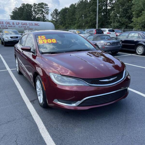 2015 Chrysler 200 for sale at Auto Bella Inc. in Clayton NC