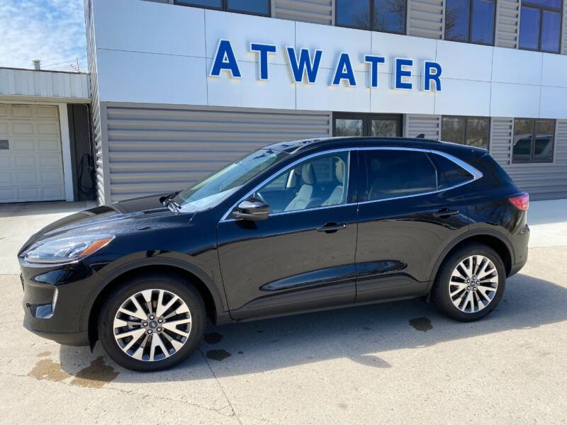 2020 Ford Escape for sale at Atwater Ford Inc in Atwater MN