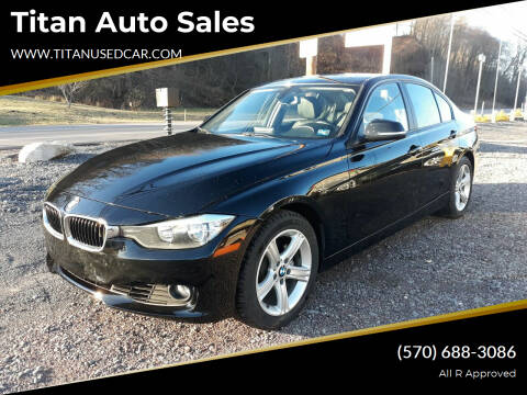 2013 BMW 3 Series for sale at Titan Auto Sales in Berwick PA