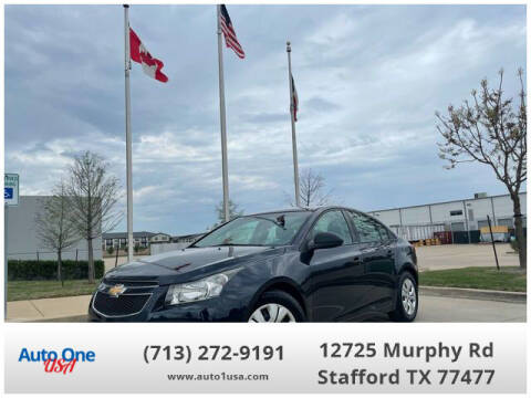 2014 Chevrolet Cruze for sale at Auto One USA in Stafford TX
