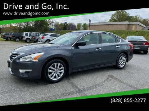2013 Nissan Altima for sale at Drive and Go, Inc. in Hickory NC