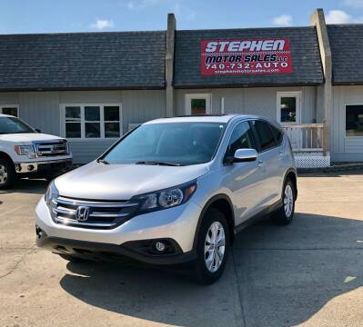 2014 Honda CR-V for sale at Stephen Motor Sales LLC in Caldwell OH