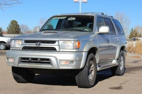 2001 Toyota 4Runner for sale at COURTESY MAZDA in Longmont CO