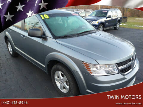 2010 Dodge Journey for sale at TWIN MOTORS in Madison OH