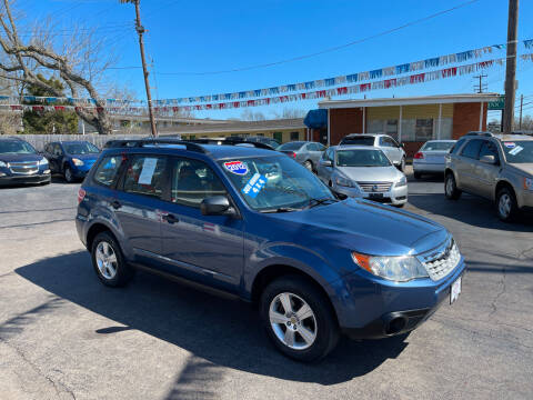 2012 Subaru Forester for sale at Hensley Auto Group in Middletown OH