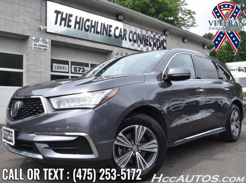 2019 Acura MDX for sale at The Highline Car Connection in Waterbury CT