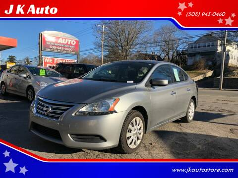 2014 Nissan Sentra for sale at Webster Auto Sales in Webster MA
