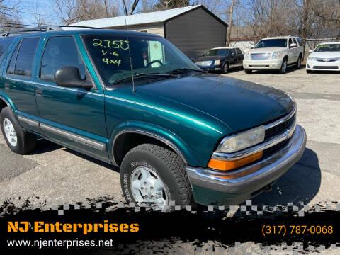 1998 Chevrolet Blazer for sale at NJ Enterprises in Indianapolis IN