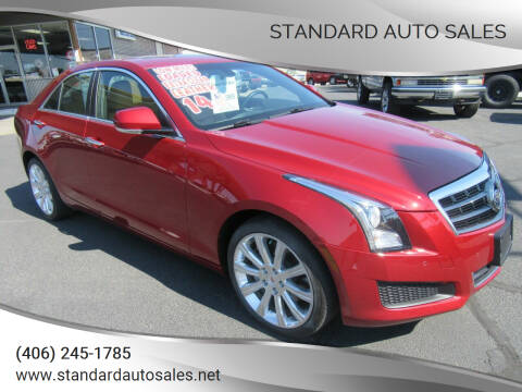 2014 Cadillac ATS for sale at Standard Auto Sales in Billings MT