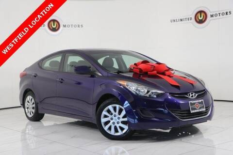 2013 Hyundai Elantra for sale at INDY'S UNLIMITED MOTORS - UNLIMITED MOTORS in Westfield IN