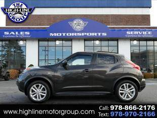 2011 Nissan JUKE for sale at Highline Group Motorsports in Lowell MA