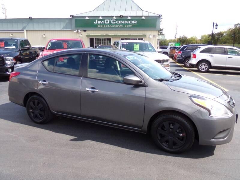 2017 Nissan Versa for sale at Jim O'Connor Select Auto in Oconomowoc WI