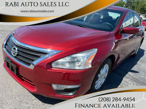 2013 Nissan Altima for sale at RABI AUTO SALES LLC in Garden City ID