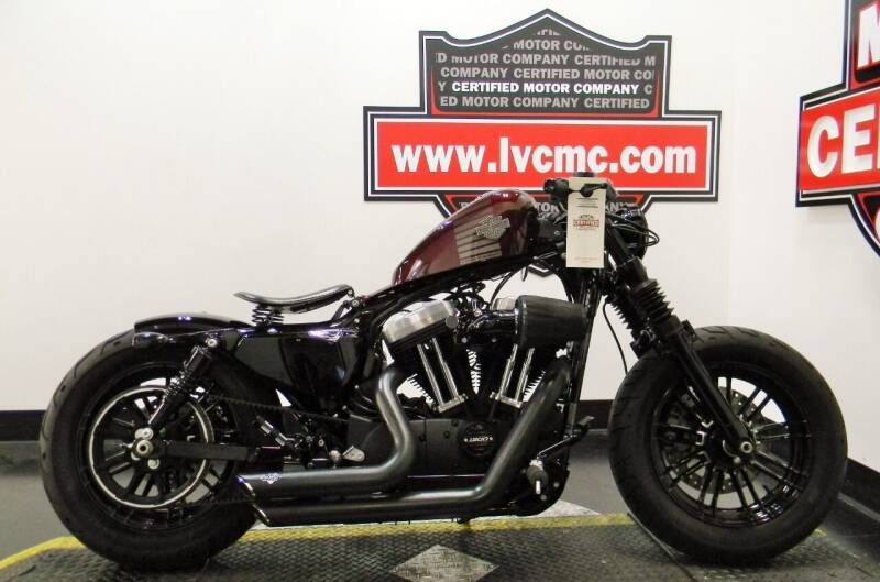2018 Harley-Davidson SPORTSTER FORTY EIGHT  for sale at Certified Motor Company in Las Vegas NV