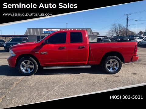 2015 RAM Ram Pickup 1500 for sale at Seminole Auto Sales in Seminole OK