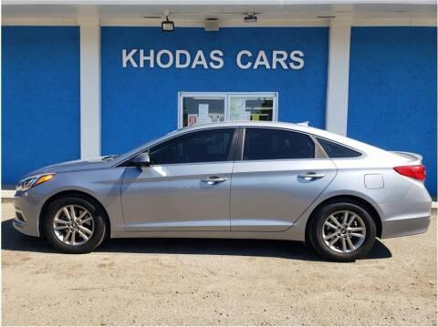 2015 Hyundai Sonata for sale at Khodas Cars in Gilroy CA