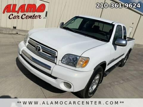 2005 Toyota Tundra for sale at Alamo Car Center in San Antonio TX