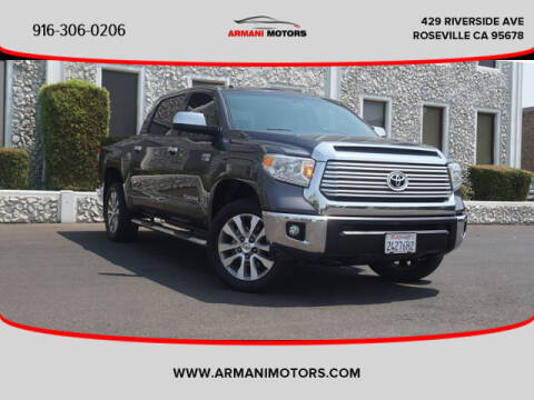 2014 Toyota Tundra for sale at Armani Motors in Roseville CA