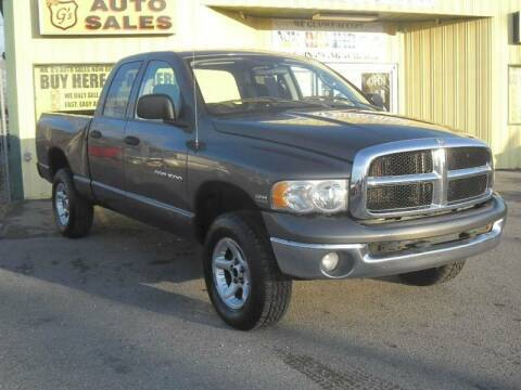 2003 Dodge Ram Pickup 1500 for sale at Mr. G's Auto Sales in Shelbyville TN