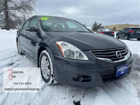 2011 Nissan Altima for sale at Transportation Center Of Western New York in Niagara Falls NY