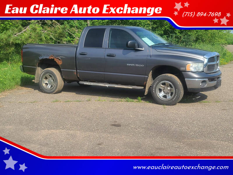 2003 Dodge Ram Pickup 1500 for sale at Eau Claire Auto Exchange in Elk Mound WI