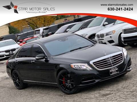 2015 Mercedes-Benz S-Class for sale at Star Motor Sales in Downers Grove IL