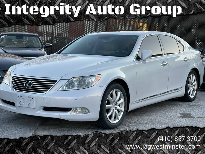 2008 Lexus LS 460 for sale at Integrity Auto Group in Westminister MD