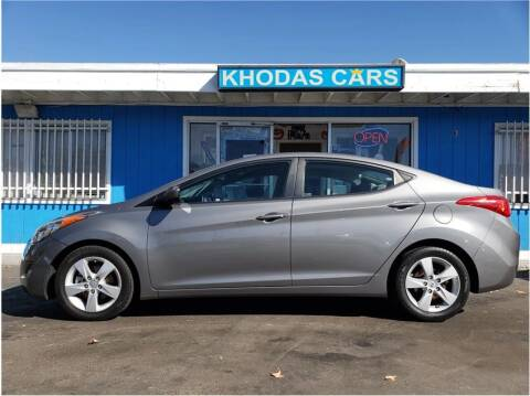2013 Hyundai Elantra for sale at Khodas Cars - buy here pay here in Gilroy, CA