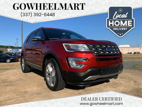 2017 Ford Explorer for sale at GoWheelMart in Leesville LA
