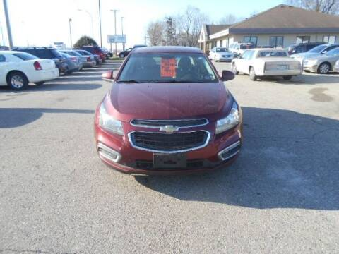 2015 Chevrolet Cruze for sale at SPECIALTY CARS INC in Faribault MN
