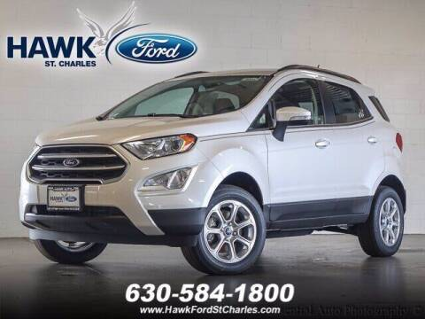 2019 Ford EcoSport for sale at Hawk Ford of St. Charles in St Charles IL
