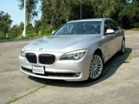 2009 BMW 7 Series for sale at Used Cars Los Angeles in Los Angeles CA