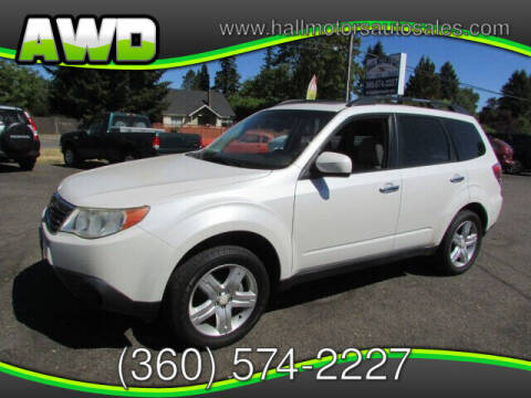 2010 Subaru Forester for sale at Hall Motors LLC in Vancouver WA