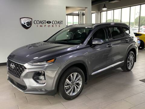 2020 Hyundai Santa Fe for sale at Coast to Coast Imports in Fishers IN