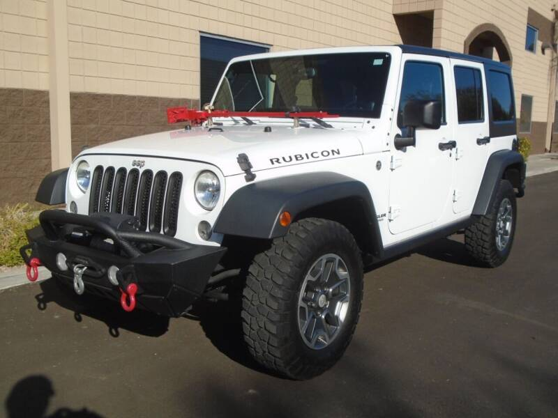 2014 Jeep Wrangler Unlimited for sale at COPPER STATE MOTORSPORTS in Phoenix AZ