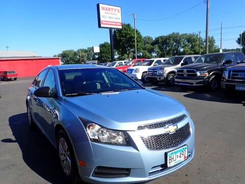 2011 Chevrolet Cruze for sale at Marty's Auto Sales in Savage MN