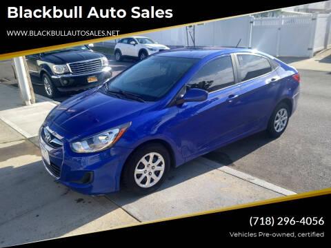 2013 Hyundai Accent for sale at Blackbull Auto Sales in Ozone Park NY