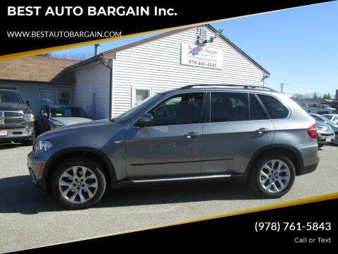 2013 BMW X5 for sale at BEST AUTO BARGAIN inc. in Lowell MA