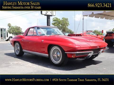 1964 Chevrolet Corvette for sale at Hawley Motor Sales in Sarasota FL
