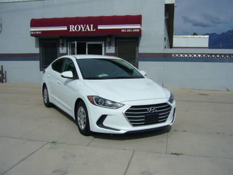2017 Hyundai Elantra for sale at Royal Auto Inc in Murray UT