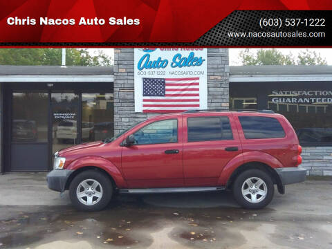2007 Dodge Durango for sale at Chris Nacos Auto Sales in Derry NH